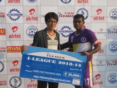 Deepak Mondal United Sports Club vs Churchill Brothers SC I-League