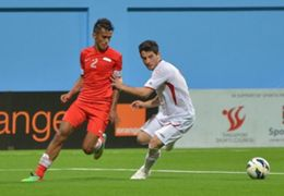 Shakir Hamzah Singapore Jordan 2015 AFC Asian Cup qualifiers 04022014