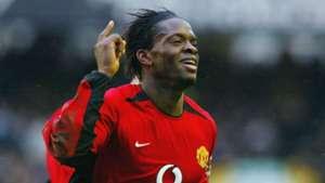 Louis Saha Manchester United