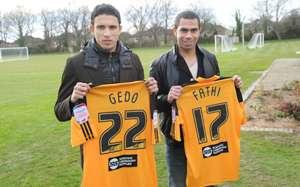 Egyptia Ahmed Fathi and Gedo - Hull City (England)
