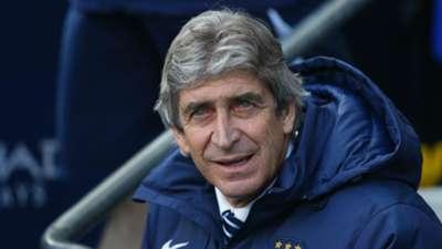 Manuel Pellegrini Premier League Manchester City v West Brom 210315