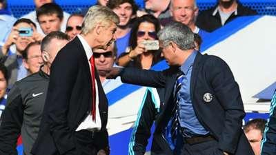 Arsene Wenger Arsenal; Jose Mourinho Chelsea