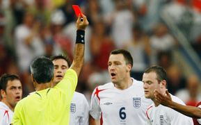 Wayne Rooney England Portugal 2006 World Cup