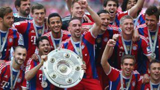 Franck Ribery Bayern Munich Bundesliga 10052014