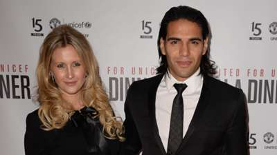 Falcao Manchester United UNICEF 15 Years
