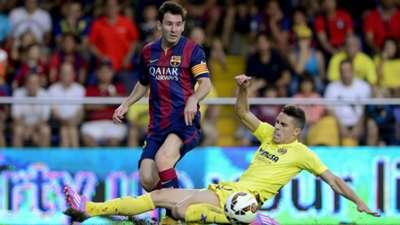 Gabriel and Lionel Messi