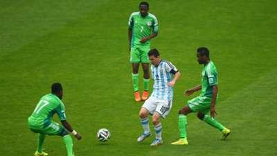 Lionel Messi vs Nigeria