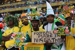 Fans in National Stadium - Afcon 2013 final