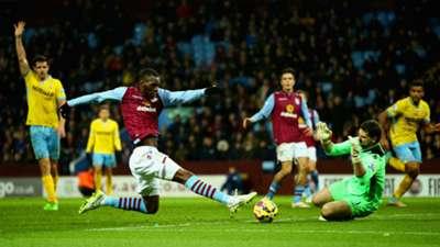 Julian Speroni Premier League Aston Villa v Crystal Palace 010115
