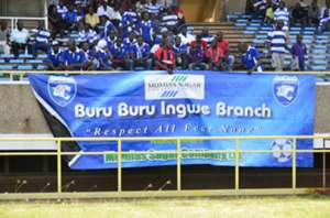 AFC Leopards fans in a past match.