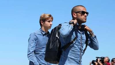 Dani Alves Champions League Barcelona v Juventus
