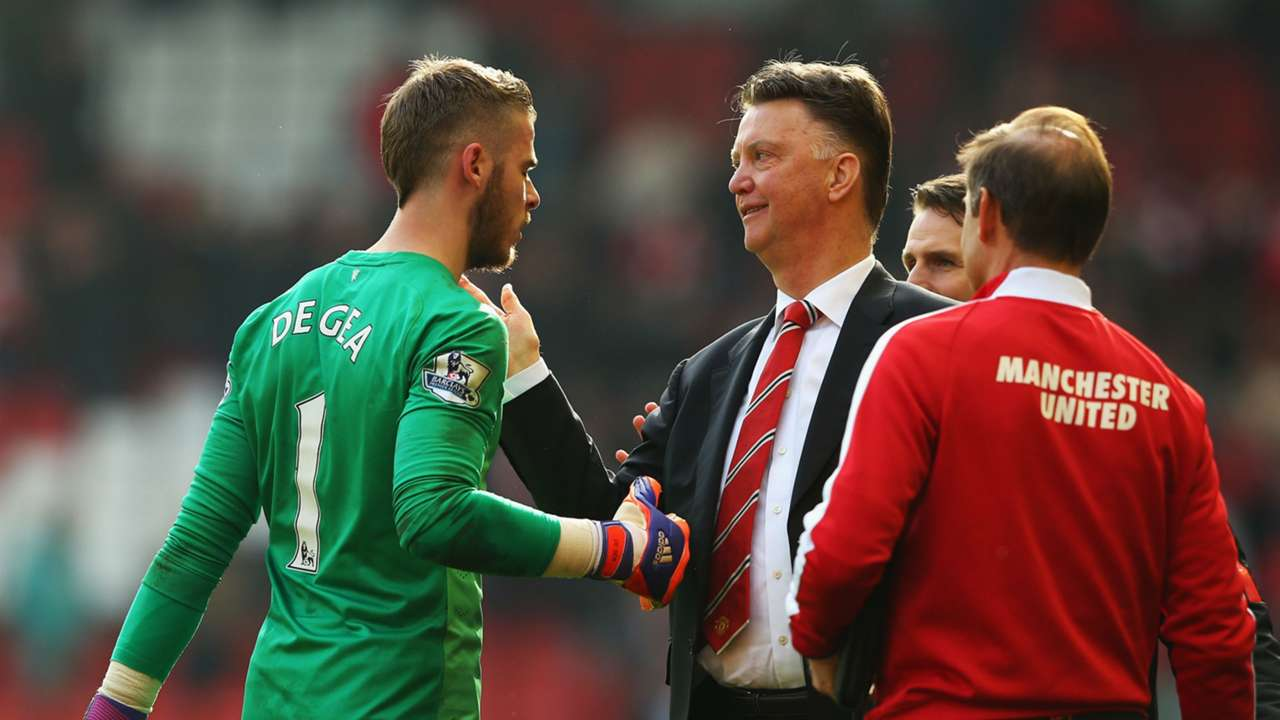 David De Gea; Louis van Gaal Manchester United