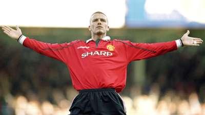David Beckham Premier League Manchester United 2000