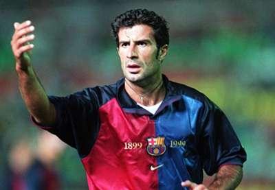 Luis Figo Barcelona La Liga 1999