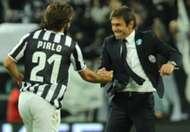 Antonio Conte Andrea Pirlo Juventus Serie A