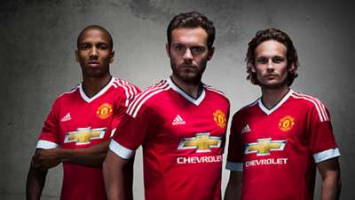 Manchester United adidas kit launch 01082015 2015-16
