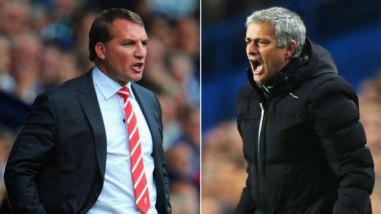 Jose Mourinho Brendan Rodgers Chelsea Liverpool