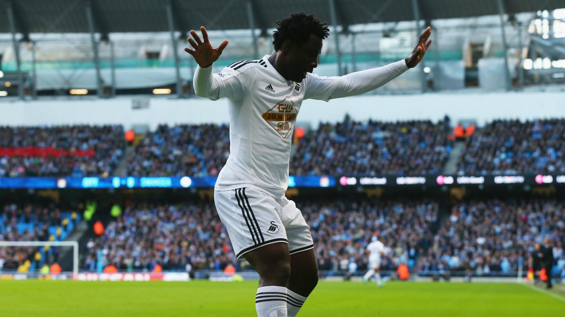 Wilfried Bony | Swansea City | Premier League | 221114
