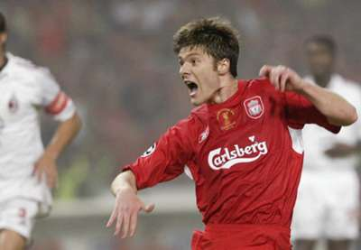 Xabi Alonso Liverpool 3-3 AC Milan Champions League 04-05