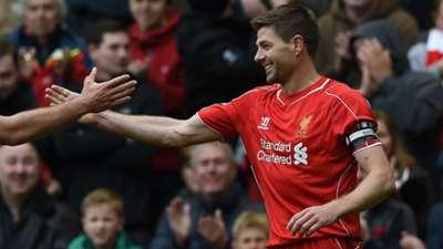 Steven Gerrard Liverpool 2015