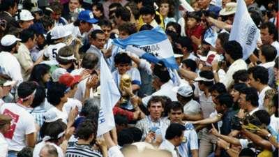 Diego Maradona World Cup 1986