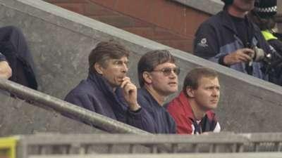 Arsene Wenger Arsenal Premier League October 1996