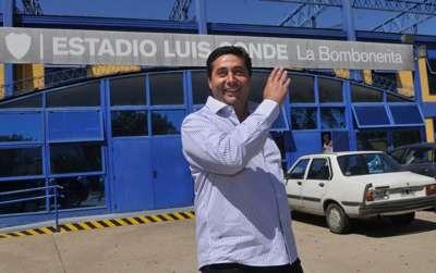 Daniel Angelici Boca presidente