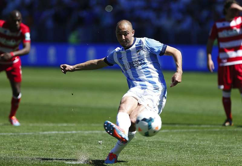 マラガ、アムラバトがアトレティコ&マドリー戦欠場へ | Goal.com