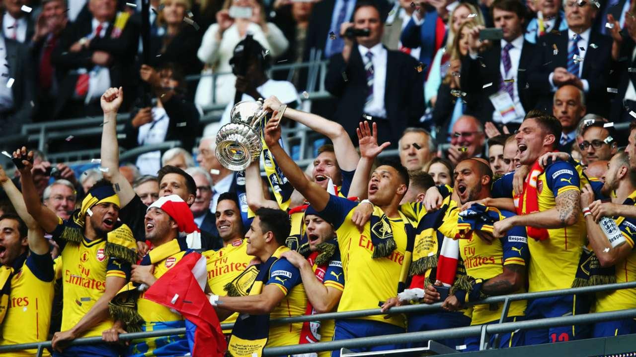 Arsenal Aston Villa FA Cup final 30052015
