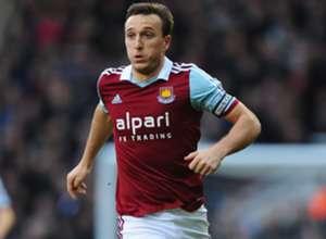 West Ham United midfielder Mark Noble