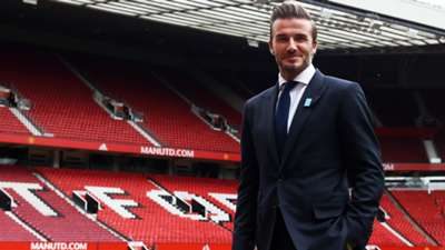 David Beckham Old Trafford UNICEF