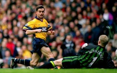 Marc Overmars Arsenal English Premier League 03141998