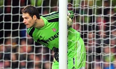 Asmir Begovic  Stoke City 17032014
