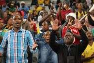 Bafana fans