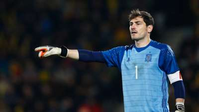Casillas in the Spain team