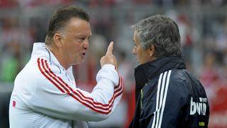 Louis van Gaal Jose Mourinho