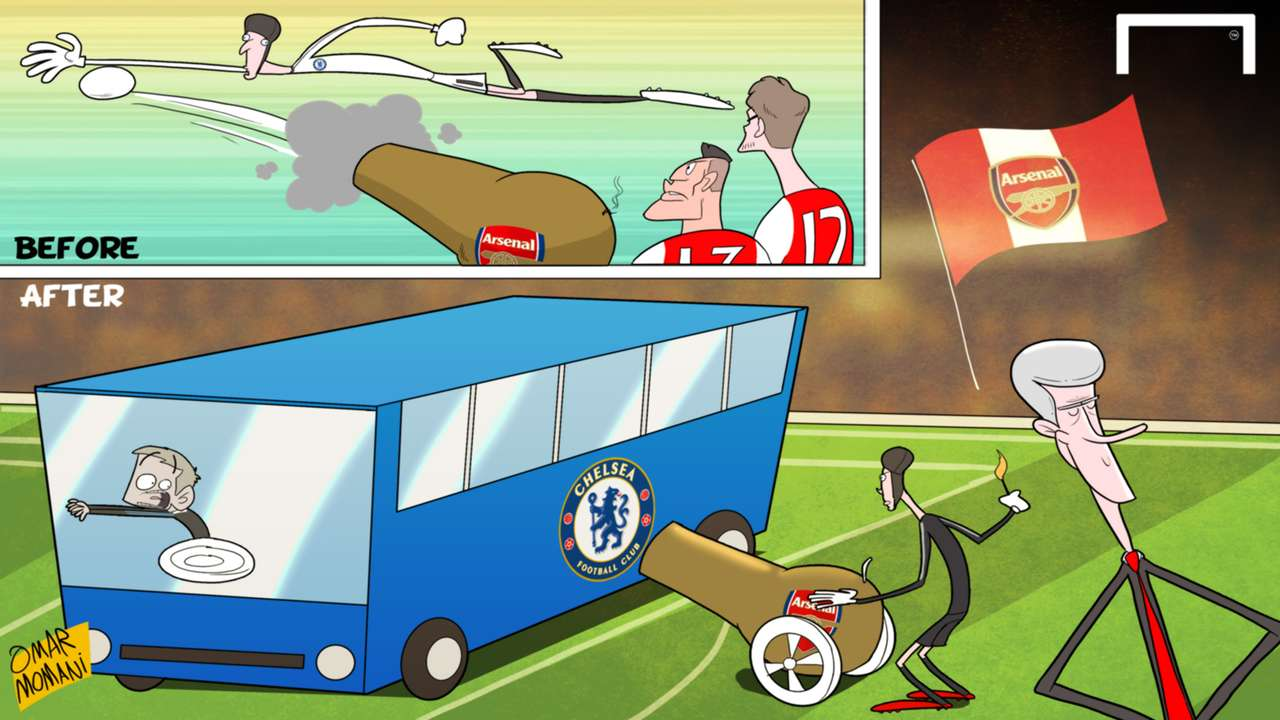 Cartoon: Petr Cech Arsenal