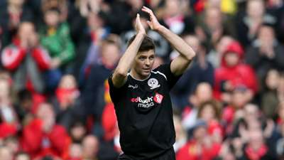 Steven Gerrard Liverpool Charity Match 29032015