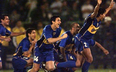 Palmeiras Boca 2001