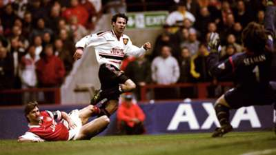Ryan Giggs Manchester United Arsenal FA Cup