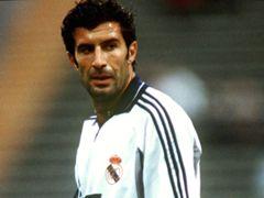 Galacticos Luis Figo Real Madrid 2000