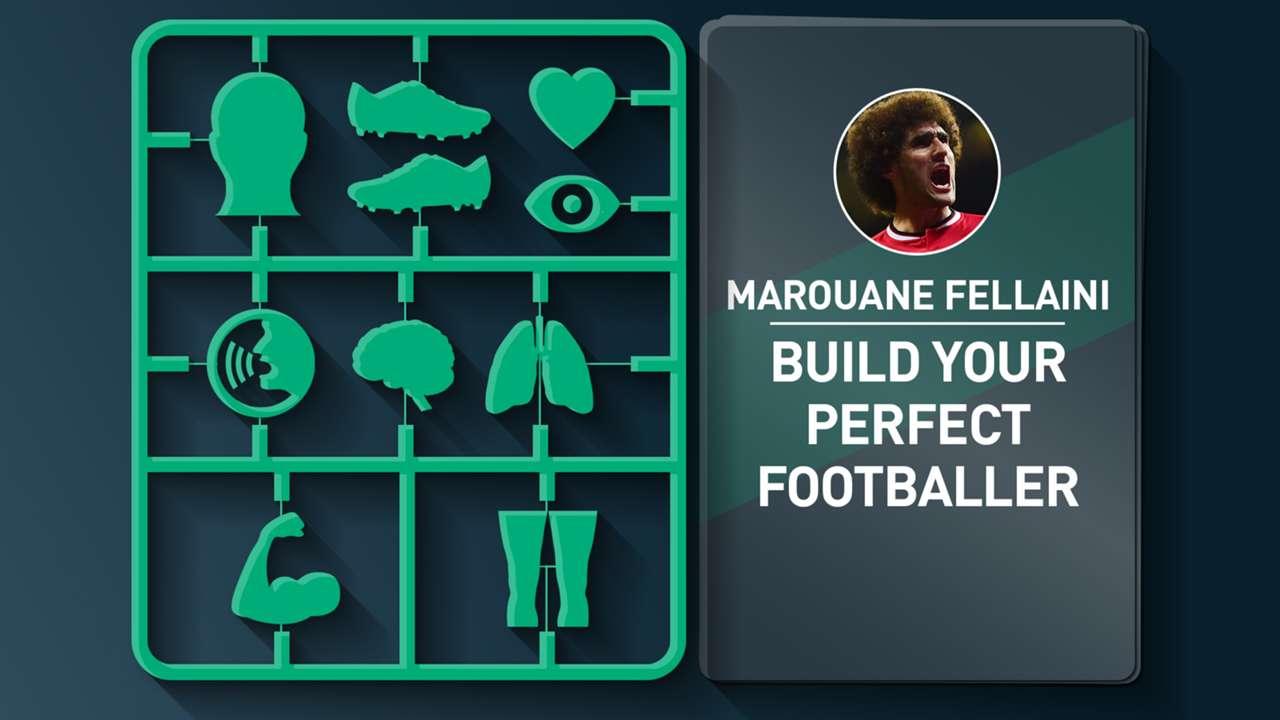 Marouane Fellaini's ultimate footballer