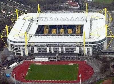 War fast immer ausverkauft: Der Signal Iduna Park des BVB