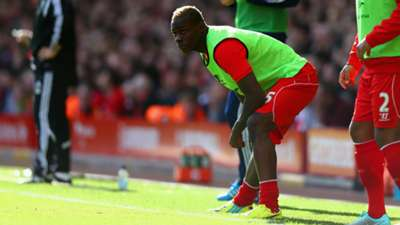 Mario Balotelli Liverpool West Brom Premier League 04102014