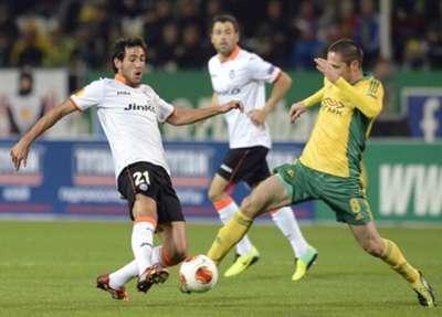Daniel Parejo Artur Tlisov Valencia Kuban Europa League