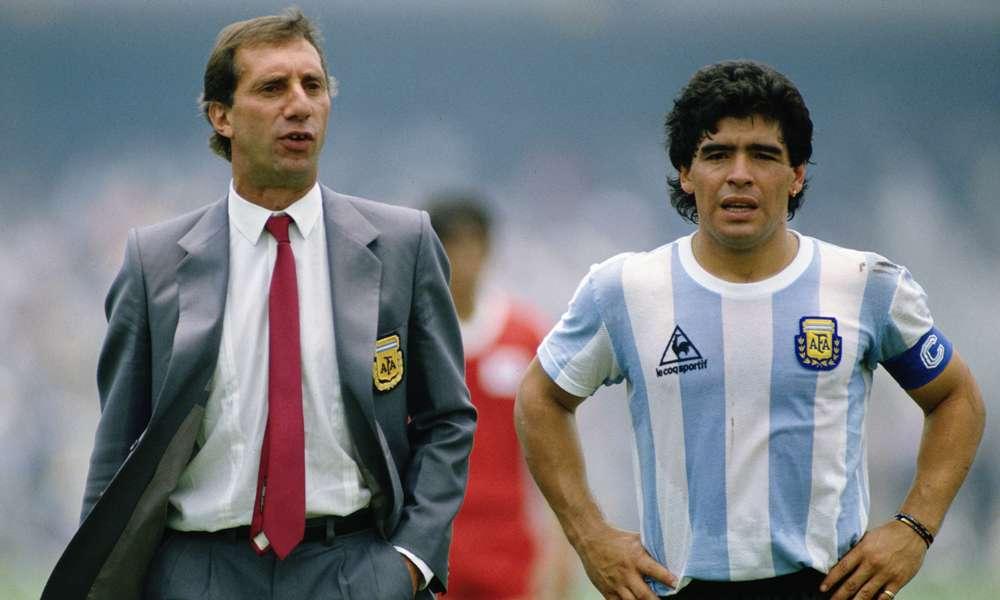 Carlos Bilardo Diego Maradona Argentina