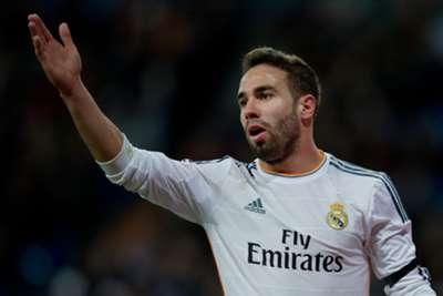 Real Madrid full-back Dani Carvajal