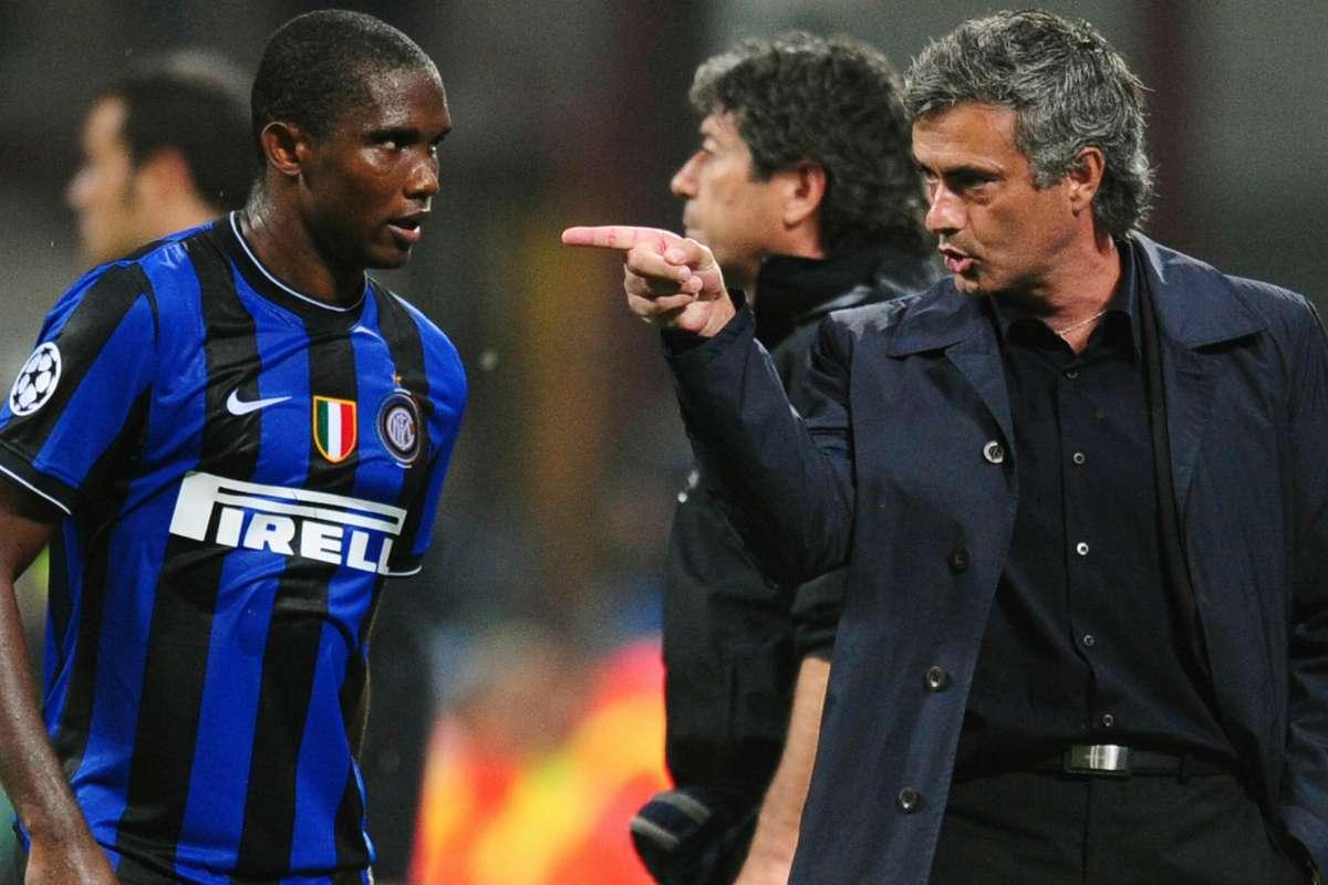 """Depois ficamos bem"""" - Eto'o relembra início tenso com Mourinho na ..."""