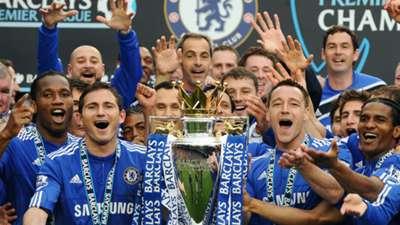 Chelsea title win 2010