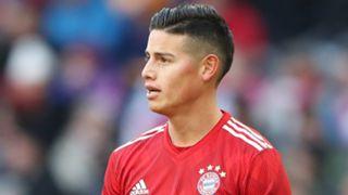 James Rodriguez FC Bayern Muenchen v Hertha BSC Bundesliga 22022019